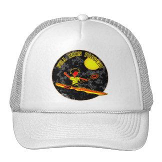 Full Moon Paddler Kayaking Canoeing Trucker Hat