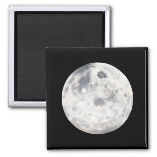 Full Moon Painting Magnet