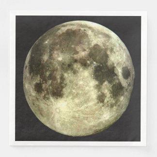 Full Moon Paper Dinner Napkin