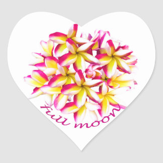 Full Moon party Koh Phangan Heart Sticker