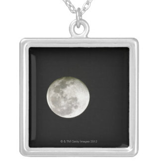 Full Moon Personalized Necklace