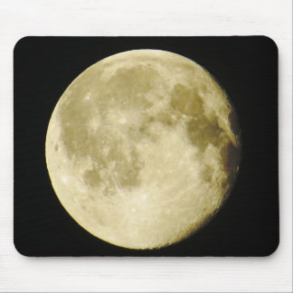 Full Moon Photo Mouse Pad