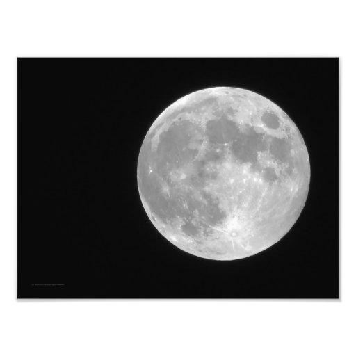 Full Moon Photo Print | Zazzle
