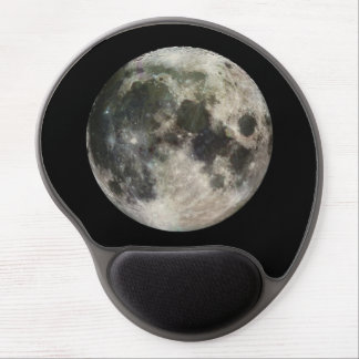 Full Moon Photography Gel Mouse Pad