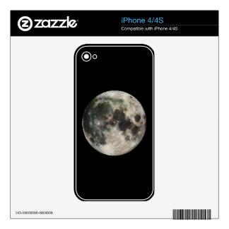Full Moon Photography iPhone 4S Decal