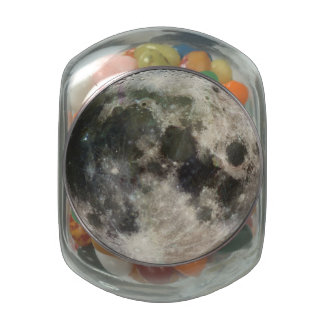 Full Moon Photography Jelly Belly Candy Jar
