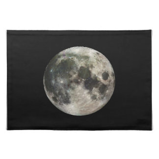 Full Moon Photography Place Mat
