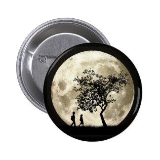 Full Moon Pinback Button