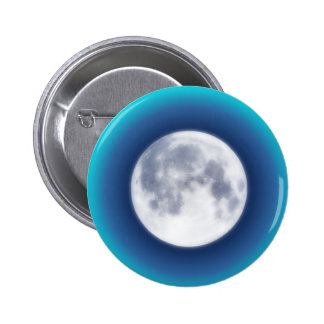 Full Moon Pinback Buttons