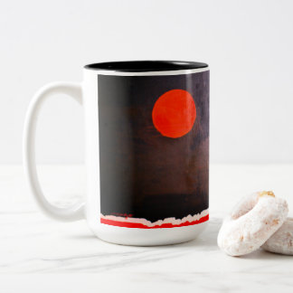 """""""FULL MOON PORCELAIN CUP """""""