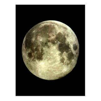 Full Moon Post Card.