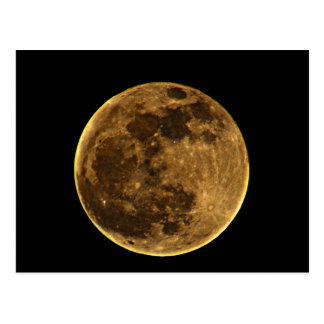 Full Moon Post Card