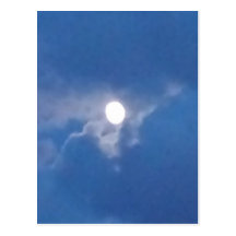 Full Moon Post Cards