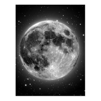 Full Moon Postcard