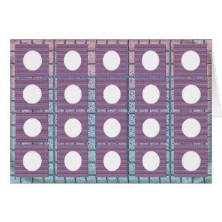 Full Moon Purple Base  - Buy Blank or Add own Text Card