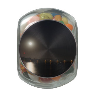 Full Moon Rise Jelly Belly Candy Jar