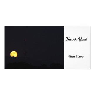 Full Moon Rise Photo Cards