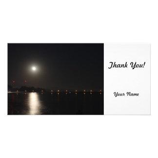 Full Moon Rise Photo Greeting Card