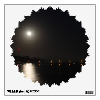 Full Moon Rise Wall Decal