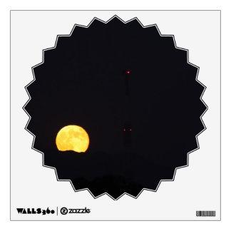 Full Moon Rise Wall Sticker