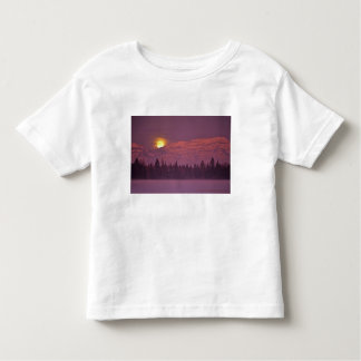 Full moon rises over Teakettle Mountain during Shirts
