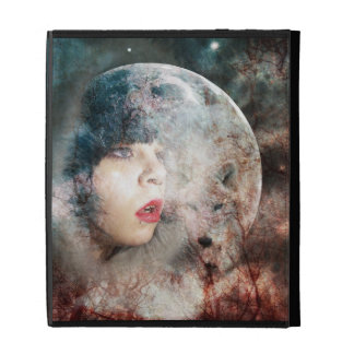 Full Moon Rising iPad Folio Case