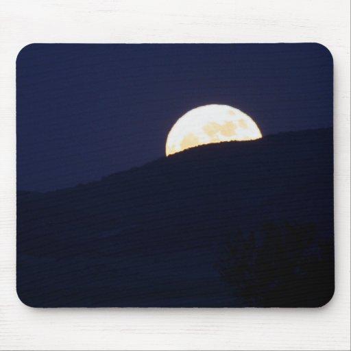 Full Moon Rising Mouse Pad