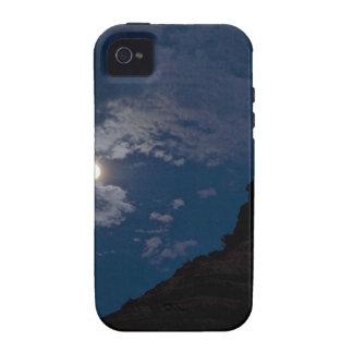 Full moon rising over Sedona Vibe iPhone 4 Covers