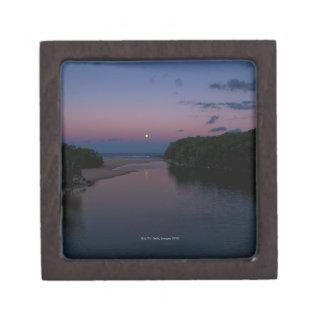 Full Moon rising over  Wattamolla Beach in the Gift Box