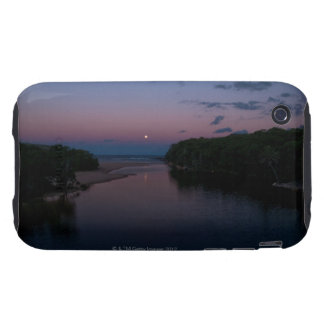 Full Moon rising over  Wattamolla Beach in the iPhone 3 Tough Cases