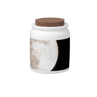 Full Moon Rising photograph Candy Jars