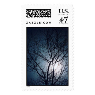 Full Moon Rising Postage