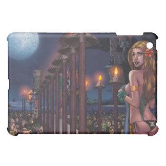 Full Moon Sacrifice iPad Case