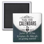 Full Moon Save the Date Magnets