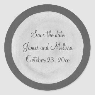 Full Moon Save the date wedding stickers