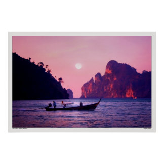 Full Moon - Sea of Thailand Poster