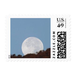 Full Moon Setting Postage