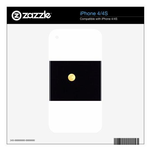 Full Moon iPhone 4 Decal
