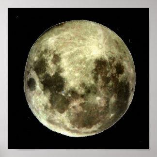 Full Moon Southern Hemisphere Poster
