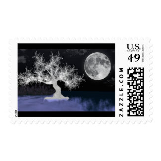 Full Moon Splendor First Class Postage Stamps
