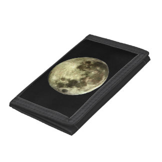 Full Moon Trifold Wallet