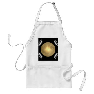 Full Moon (Turn Page Special Effect) Adult Apron