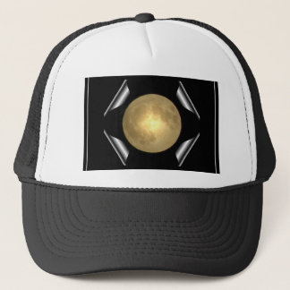 Full Moon (Turn Page Special Effect) Trucker Hat