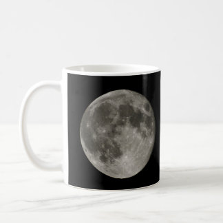 Full Moon view from Earth in Belgium Coffee Mug