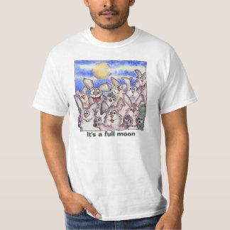 Full Moon Wild Bunnies T Shirt