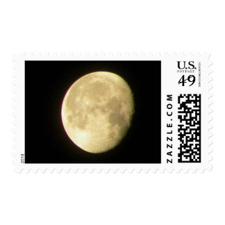 Full Moon With Craters Postage