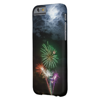 Full Moon with Fireworks Barely There iPhone 6 Case