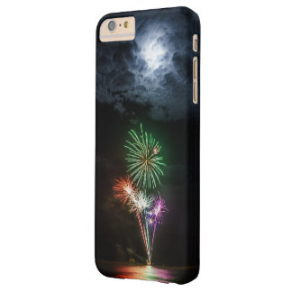 Full Moon with Fireworks Barely There iPhone 6 Plus Case