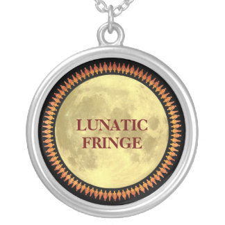 Full Moon with Lunatic Fringe Personalized Necklace