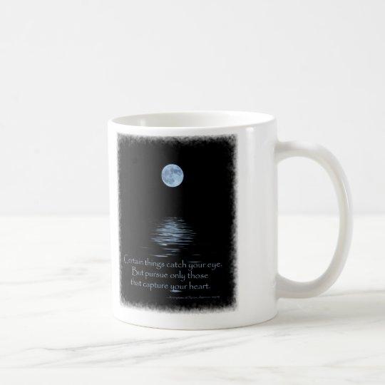 Full Moon with Native American saying Coffee Mug